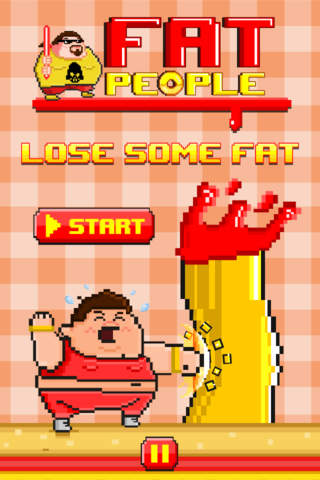 Fat People FREE GAME - Quick Old-School Retro Pixe - náhled