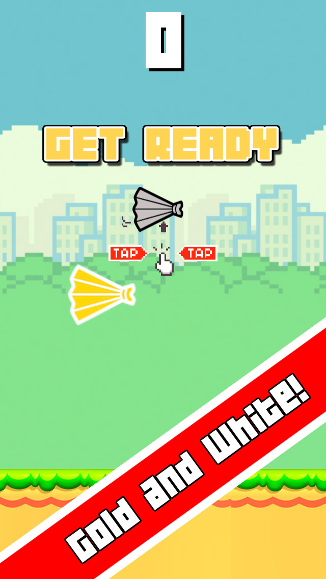 Impossible Flappy Dress Color screenshot 3