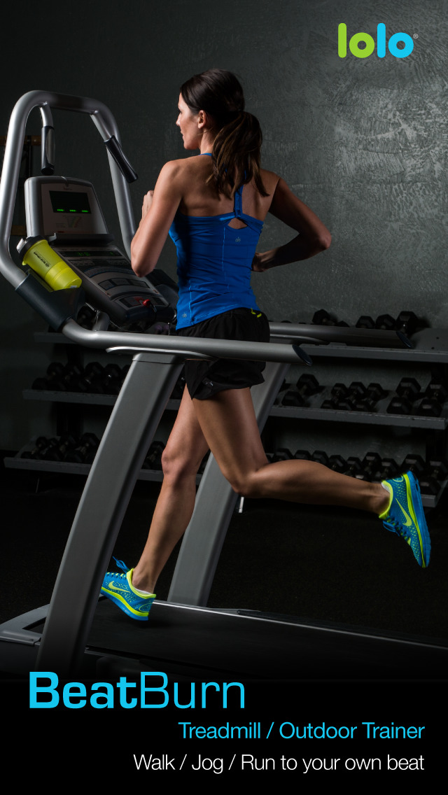 BeatBurn Treadmill Trainer - Walking, Running, and Jogging Workouts screenshot 1