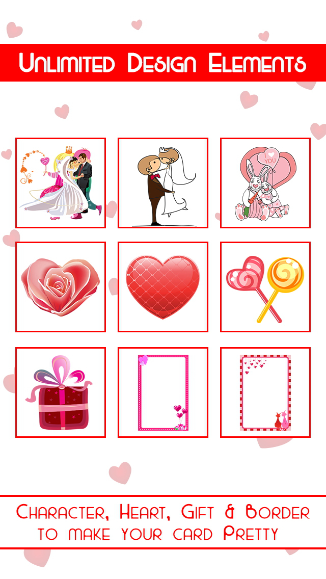 Romantic Card Maker - Love Cards, Romantic Ringtones, SMS & Valentine Countdown screenshot 3