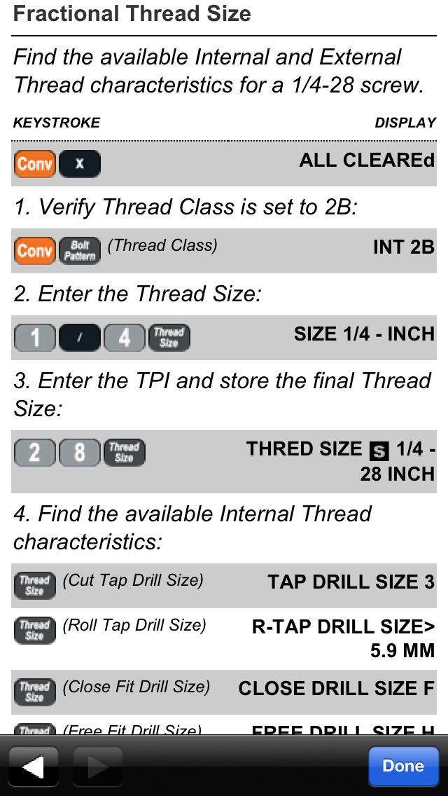 Machinist Calc Pro screenshot 5