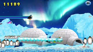Happy Pinguin Jump : Wourld Tour screenshot 4