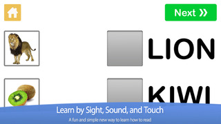 Learn to Read - Four Letter Words by Little Reader screenshot 1