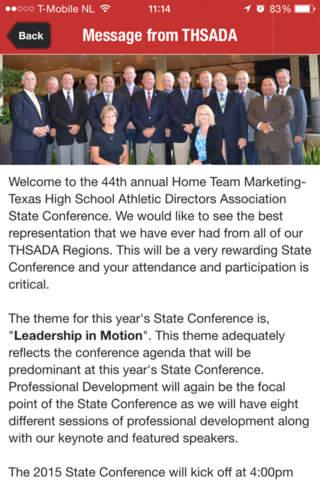 HTM THSADA Conference - náhled