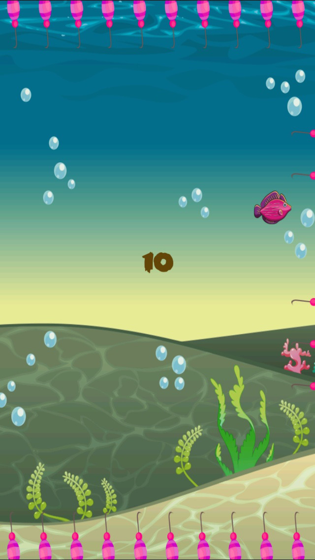 Do Not Let Fish Die - cool speed jumping arcade game screenshot 2