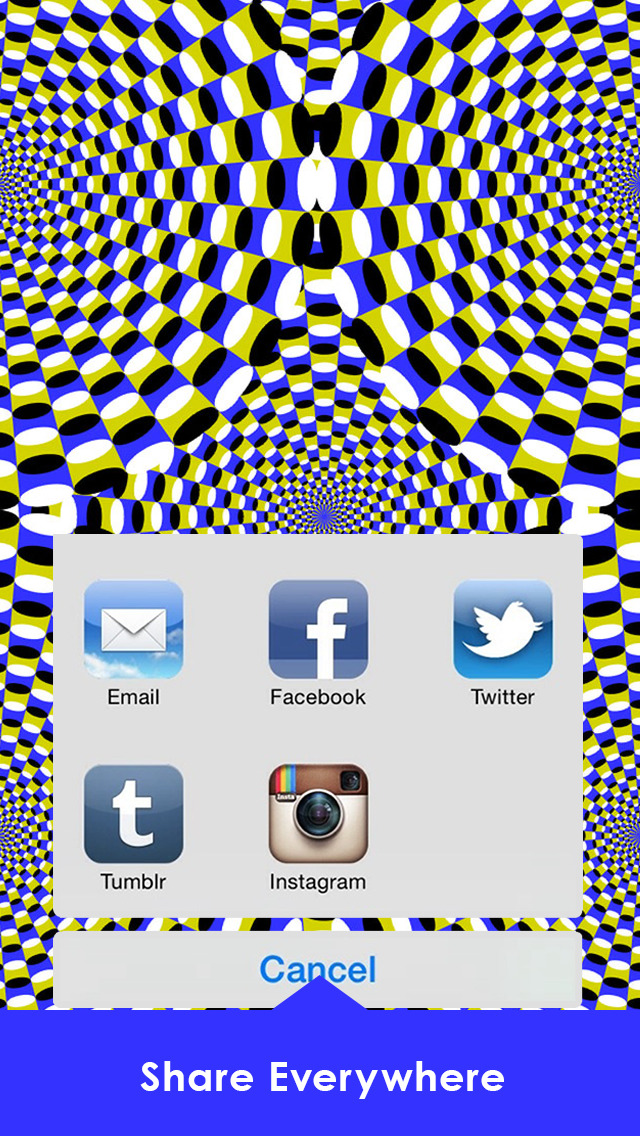 Optical Illusions Wallpapers with Visual Tricks HD screenshot 5
