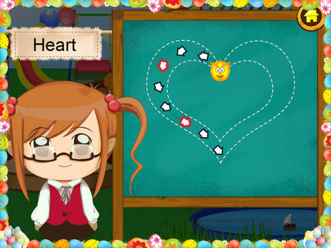 Trace It - Alphabets Numbers and Shapes HD Lite screenshot 9