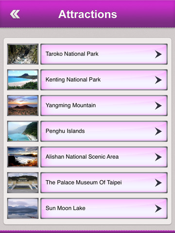 Taiwan Tourism screenshot 8