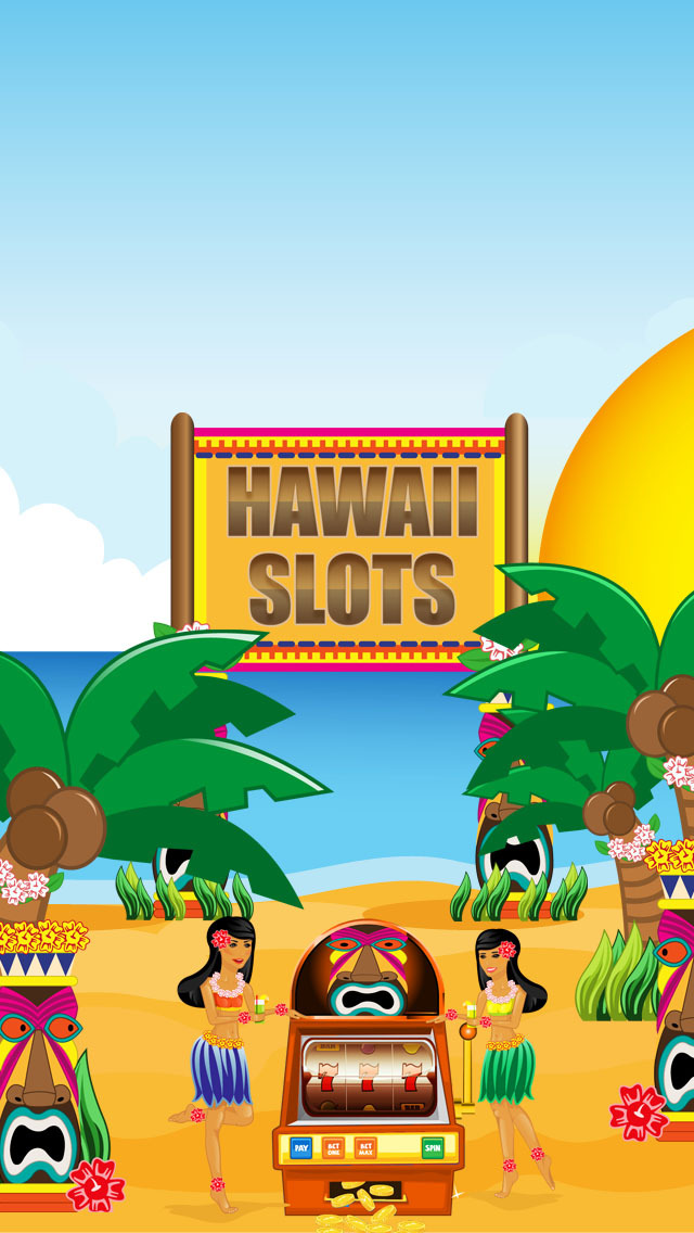 Hawaii Slots: Vacation Casino Lottery Application screenshot 1