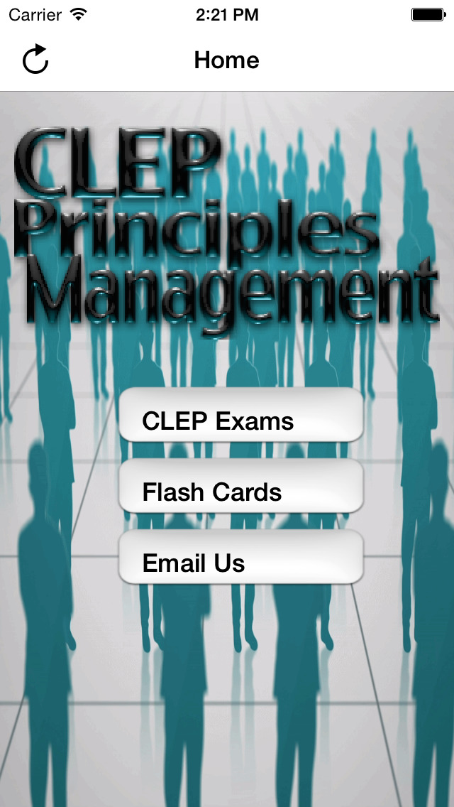 CLEP Principles of Management screenshot 1