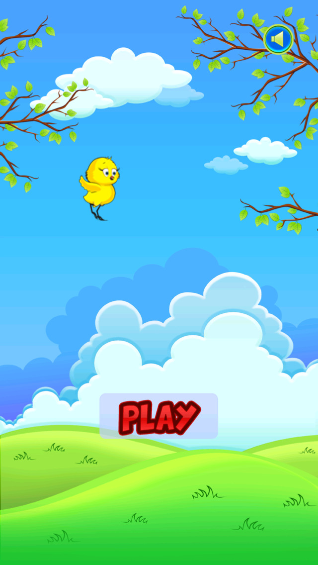 Baby Chicken Forest Run screenshot 1