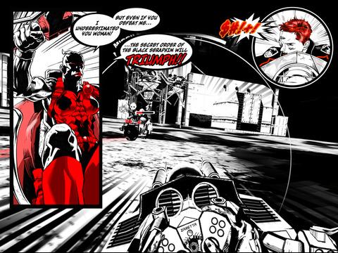 SXPD: Extreme Pursuit Force. The Comic Book Game Hybrid screenshot 8