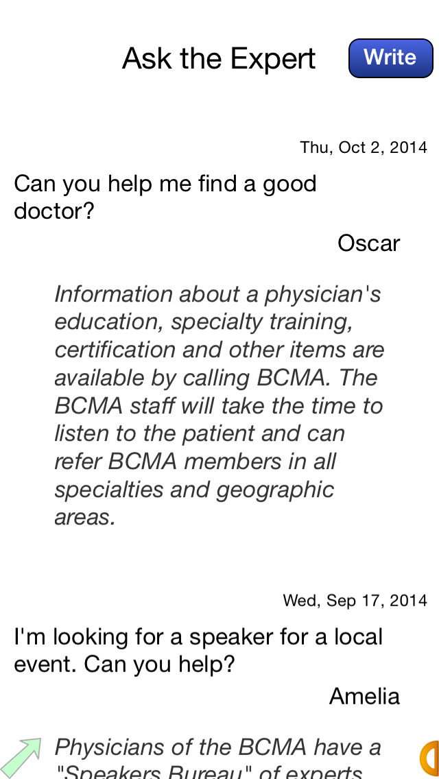 Broward County Medical Association screenshot 5