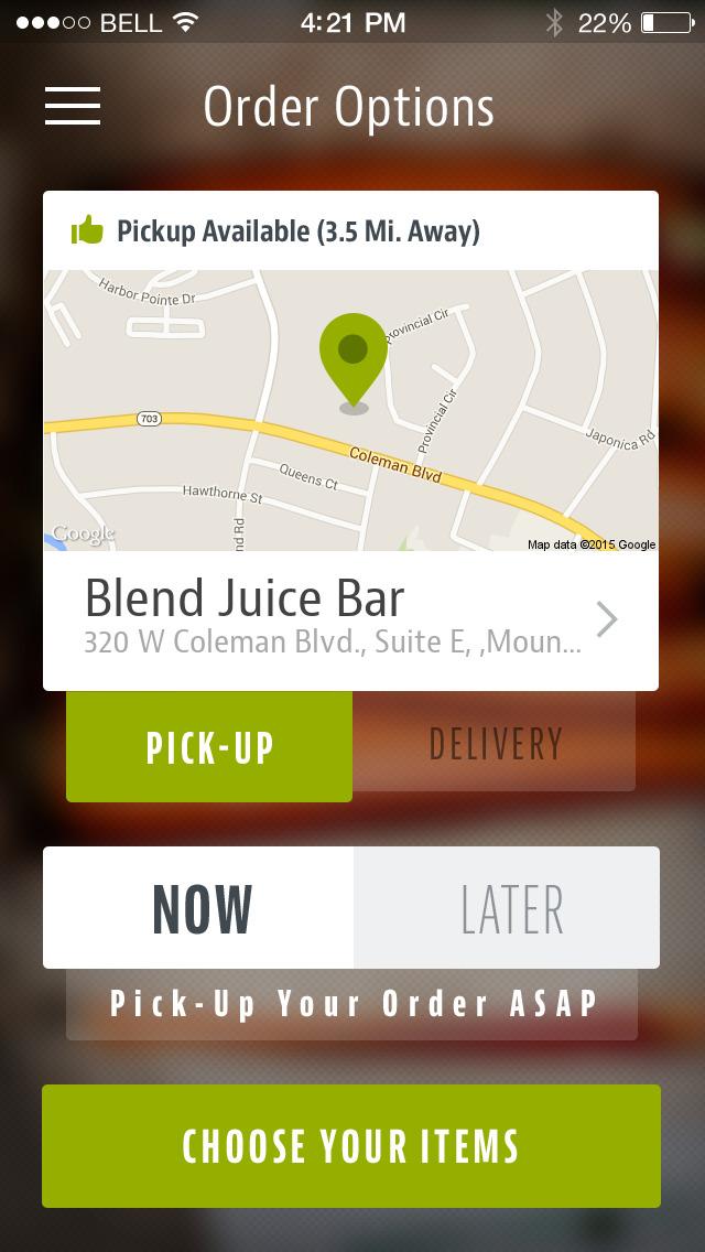 Blend Juice Bar screenshot 2