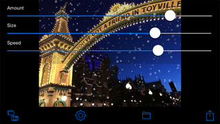 Snowing Camera screenshot 3