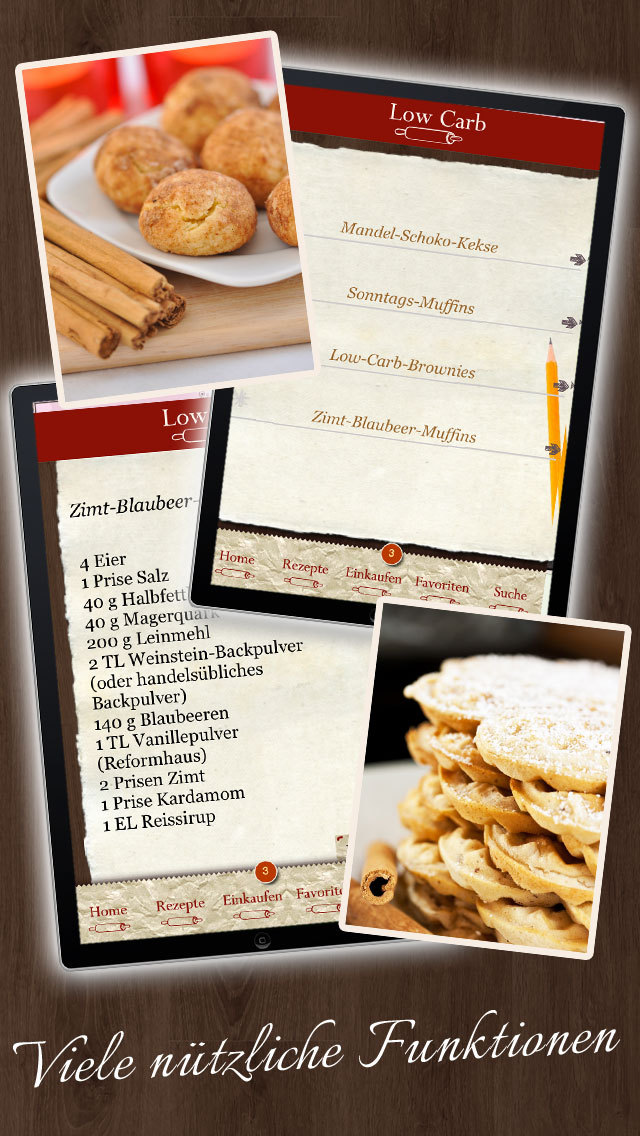 Low Carb Rezepte - Backbuch screenshot 5