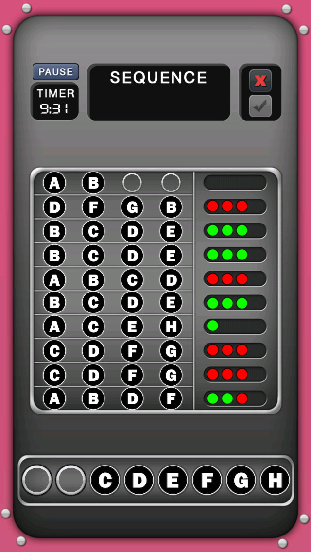 Decode Letters screenshot 2