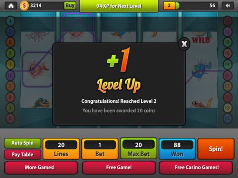 Fish Slots Craze House of Rich-es Las Vegas Casino - Win Big with Fun Xtreme Slot Machine Game Free screenshot 10