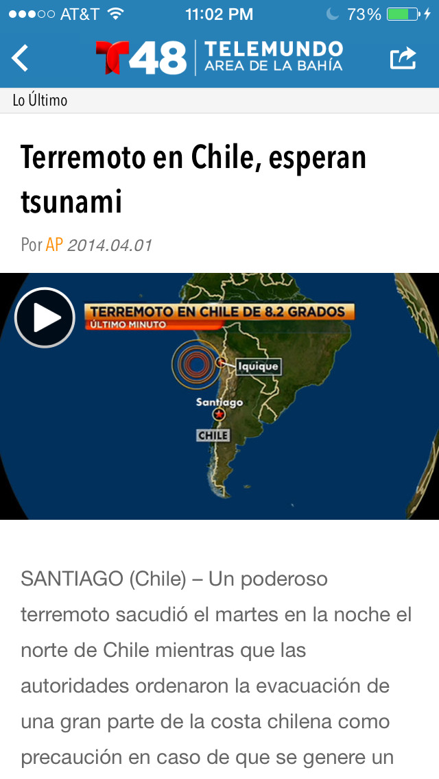 Telemundo 48 screenshot 4