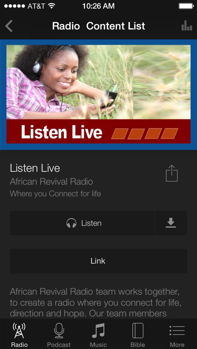 African Revival Radio screenshot 3