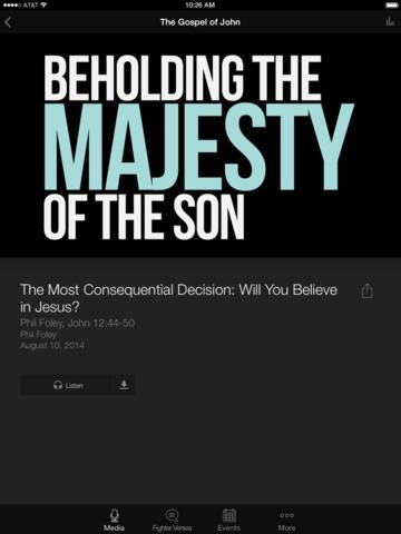 Exalting Christ Ministries screenshot 6