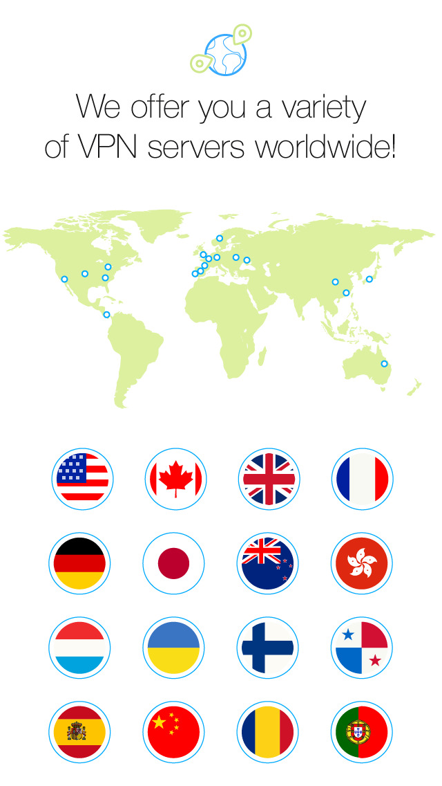 VPN Unlimited with DNS Shield screenshot 2
