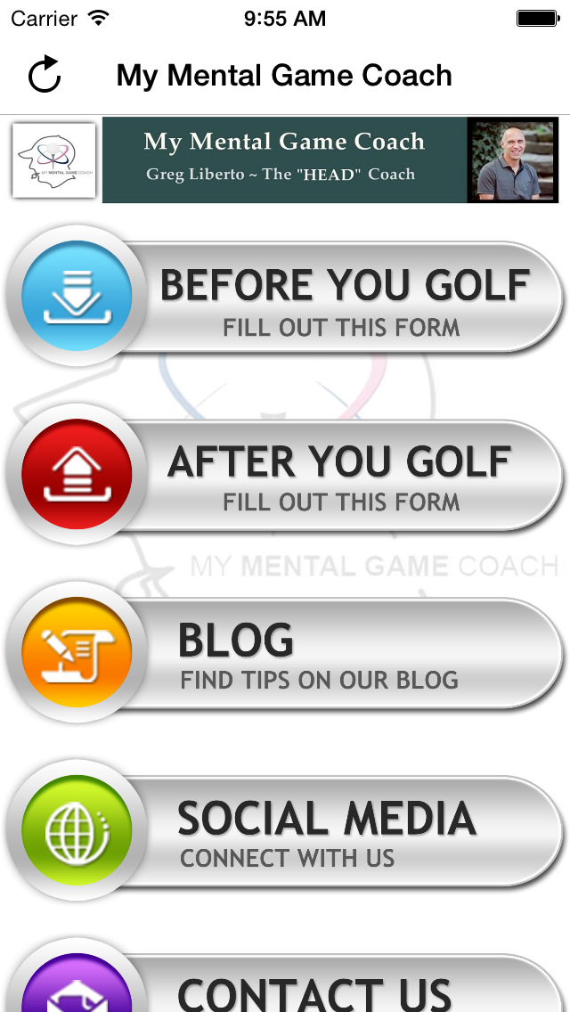 My Mental Game Coach screenshot 1