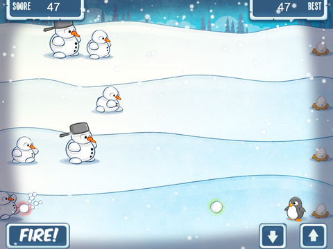 Snowmen Vs Penguin FREE screenshot 7
