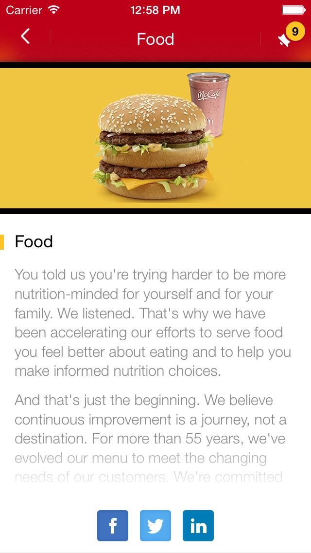 McDonald's® Ambassador screenshot 3