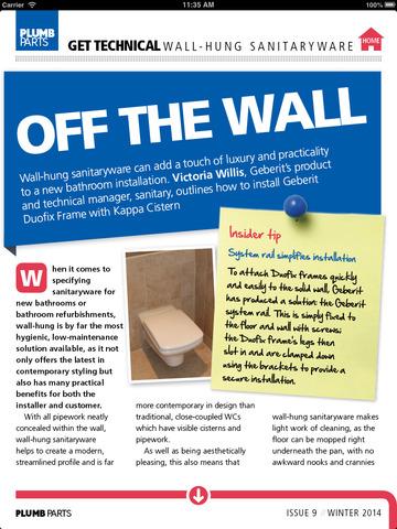 Plumb Parts Magazine - náhled