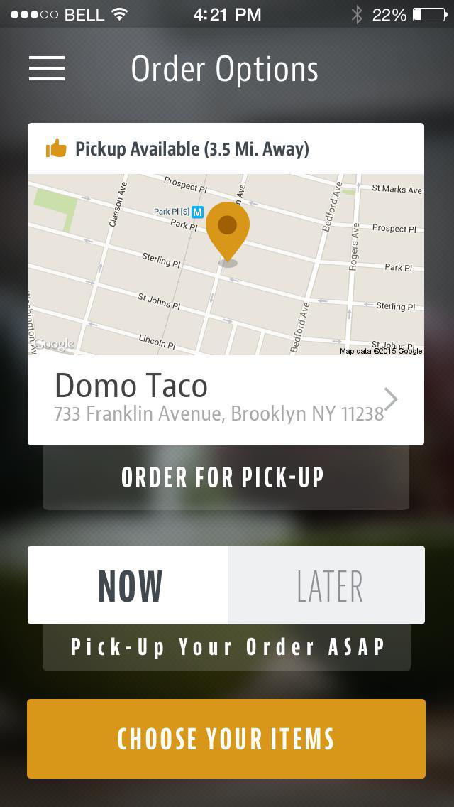 Domo Taco screenshot 2