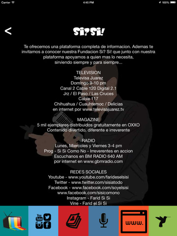 Farid El reportero en la Frontera de El Gordo y La Flaca - Si Si version screenshot 5