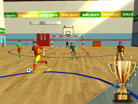 Futsal 2015 - Indoor football arena game with real soccer tournaments and leagues by BULKY SPORTS [Premium] screenshot 6