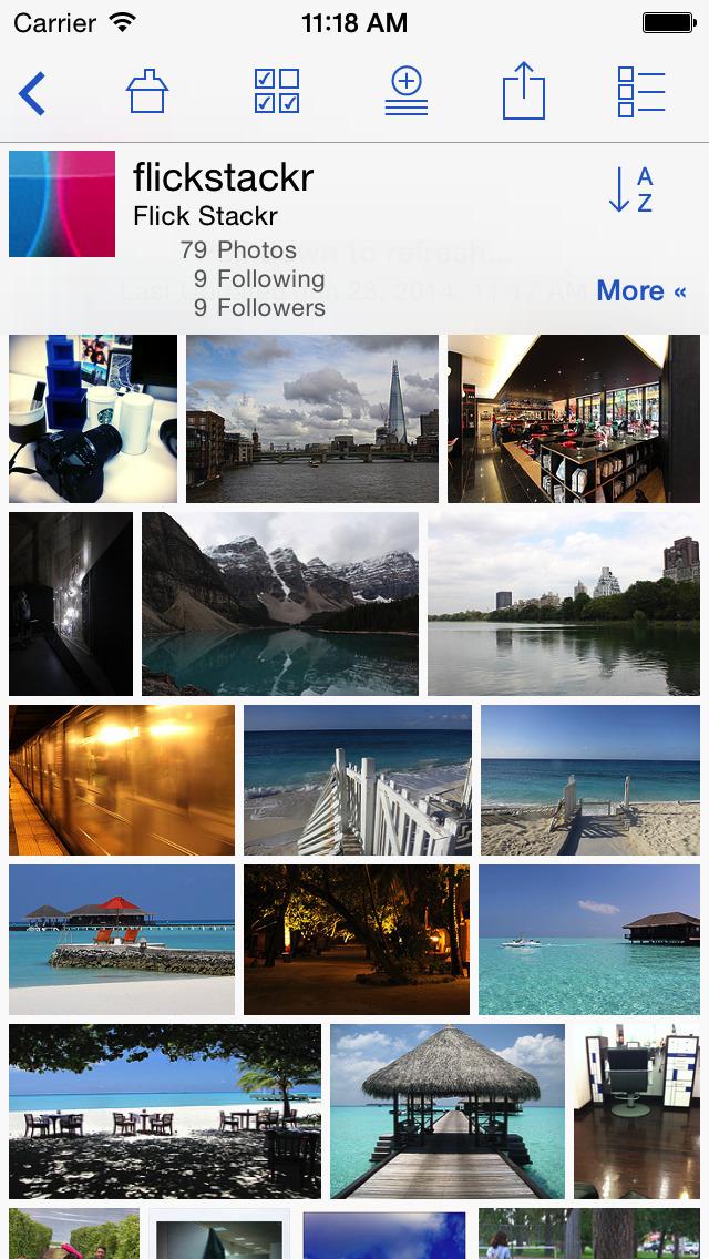 FlickStackr for Flickr screenshot 2