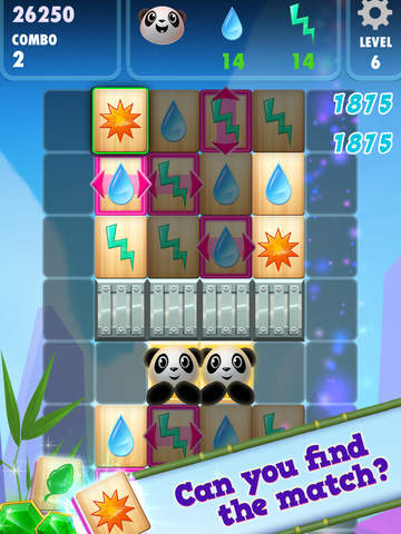 Panda PandaMonium: A Mahjong Puzzle Game screenshot 6