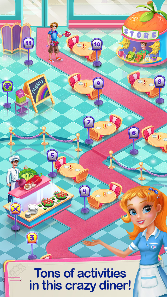 Crazy Diner Day screenshot 5