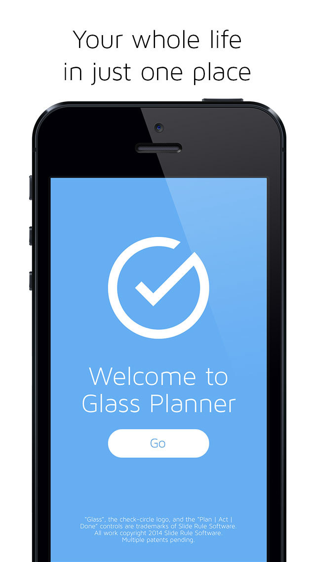 Glass Planner screenshot #1
