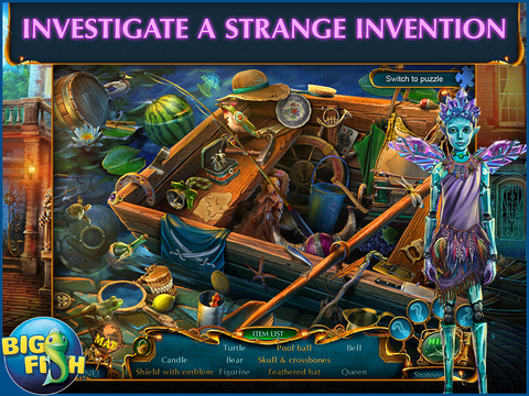 Labyrinths Of The World: Shattered Soul HD - A Supernatural Hidden Object Adventure screenshot 2
