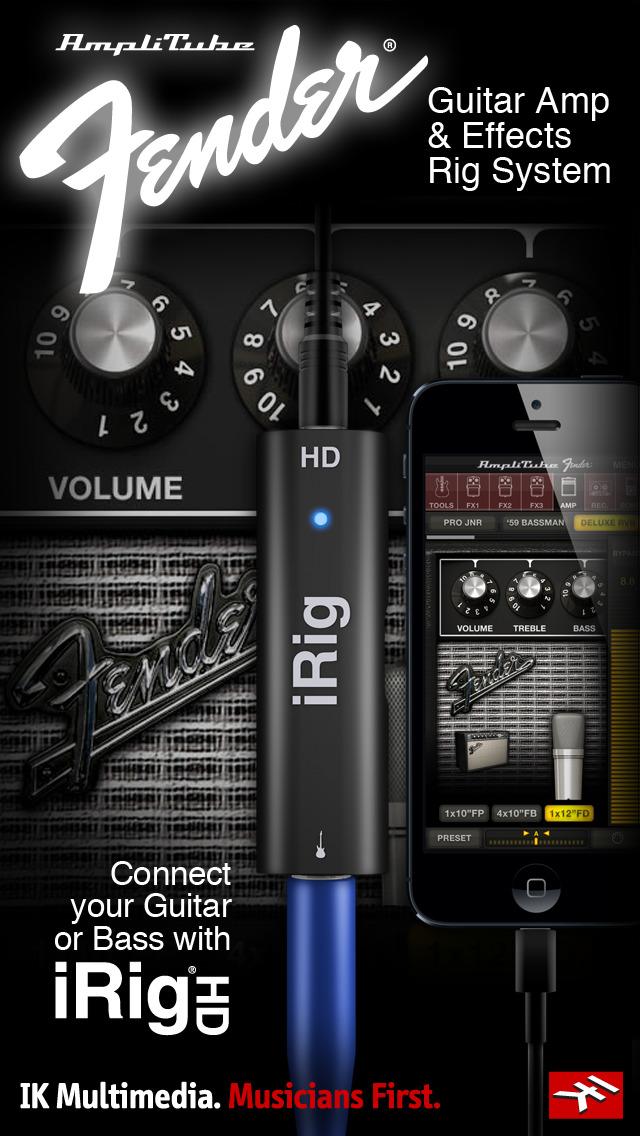 AmpliTube Fender™ FREE screenshot 2