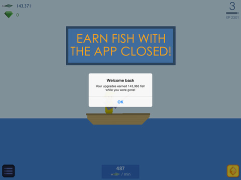 Fishy Clicker - Original Incremental Idle Game about Fishing screenshot 9