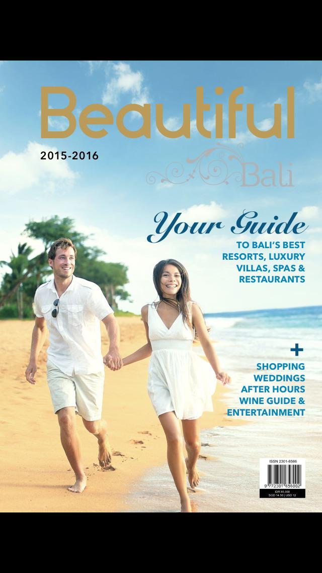 Beautiful Bali Magazine screenshot 1