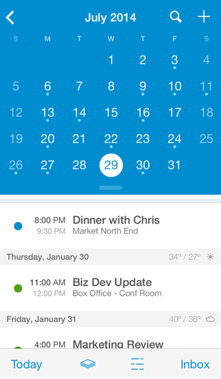 UpTo Calendar - Syncs with Google Calendar, iCloud, Outlook and more screenshot 5