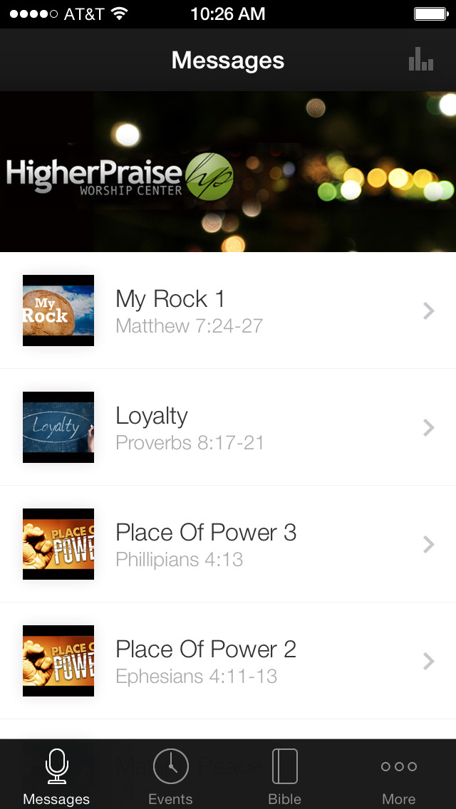 Higher Praise Worship Center App screenshot 1