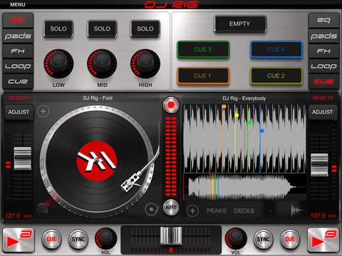 DJ Rig FREE for iPad screenshot 5