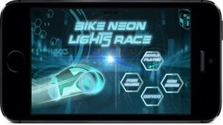 Neon Lights Race : Electronic Moto Chase War screenshot 1