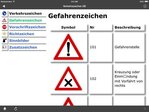 Verkehrszeichen DE screenshot 7
