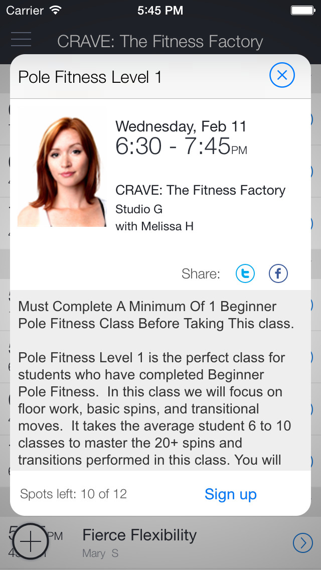 CRAVE: The Fitness Factory screenshot 2