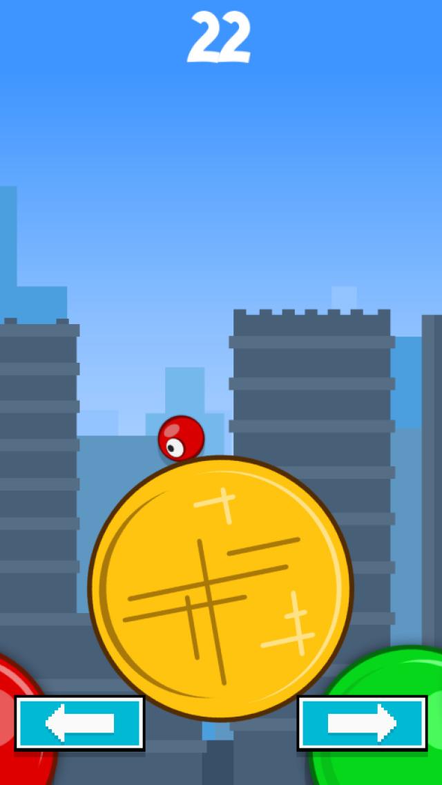 Circle Runner vs Red Ball FREE screenshot 4