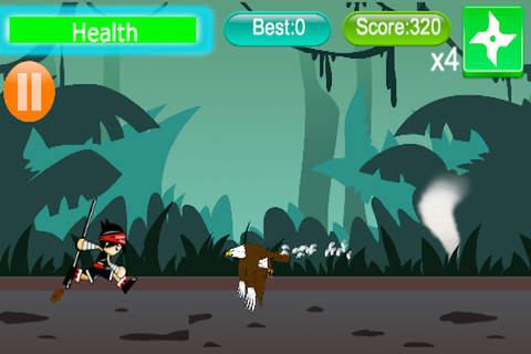 Ninja Jungle Rush - náhled