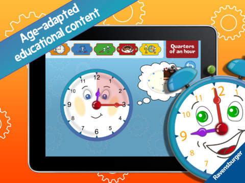 My first clock – Learn to tell the time screenshot 9